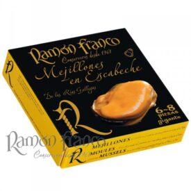 mejillones en escabeche GIGANTES - Ramon Franco