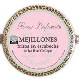 Mejillones en escabeche rias gallegas