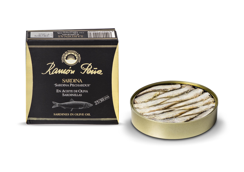 Sardinillas en aceite de oliva ram n pe a la tienda de las conservas - Conservas la brujula ...