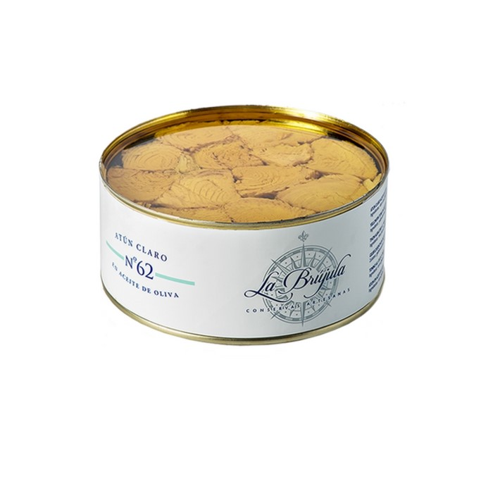 Tronco de at n en aceite de oliva 1kgr conservas la br jula - Conservas la brujula ...